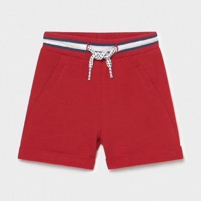 Pantaloni rosii scurti plus nou-nascut baiat 1212 MYPS07X