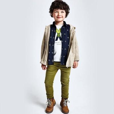 Pantaloni verzi slim fit baiat MAYORAL 4533 MYBG11V