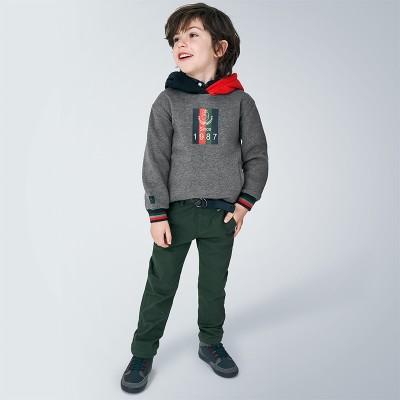 Pantaloni verzi structura bellardina baiat MAYORAL 4535 MYPL113Y