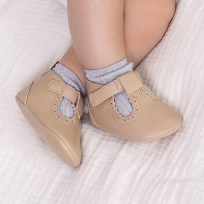 Pantofi bej piele ecologica baiat MAYORAL 9392 MYPANTF08X