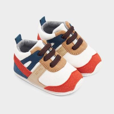 Pantofi caramizii sport multicolori baiat MAYORAL 9336 MYPANTF02V