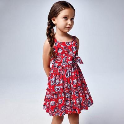 Rochie bretele imprimeu fetita MAYORAL 3947 MYR50X