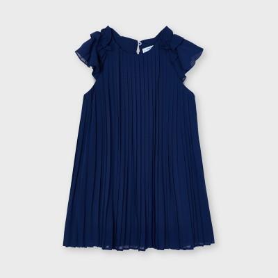 Rochie bleumarin plisata fetita MAYORAL 3911 MYR40X