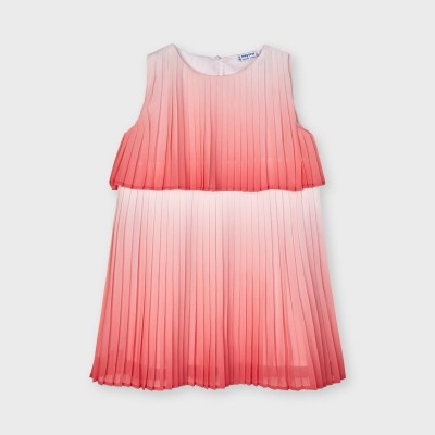 Rochie corai tie dye plisata fetita MAYORAL 3951 MYR52X