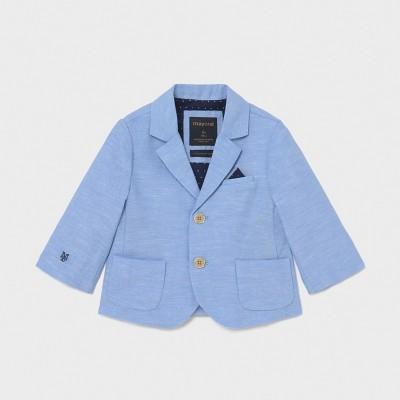 Sacou bleu in eleganta baiat MAYORAL 1402 MYSC02X