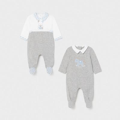 Set gri 2 pijamale lungi baiat MAYORAL 1626 MYPIJA10X