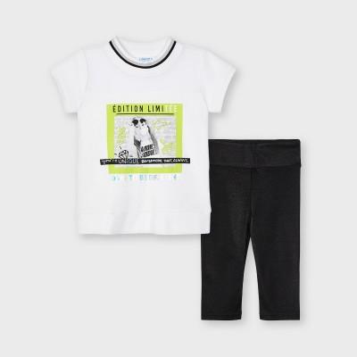 Set negru leggings sclipici fetita MAYORAL 3740 MYCS07X