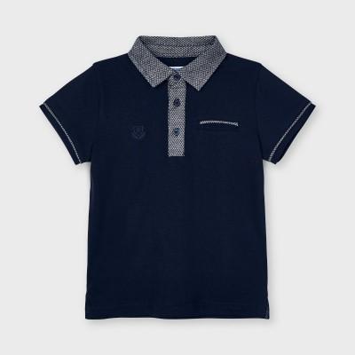 Tricou bleumarin polo tailoring baiat MAYORAL 3110 MYBL52X