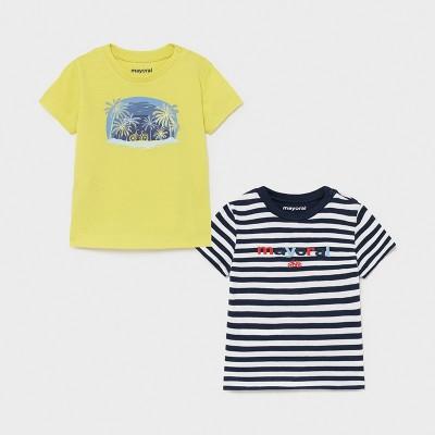 Tricou albastru dungi baiat MAYORAL 1015 MYBL10X