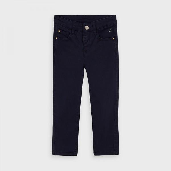 Pantaloni bleumarin regular fit baiat MAYORAL 41 MYBG08V