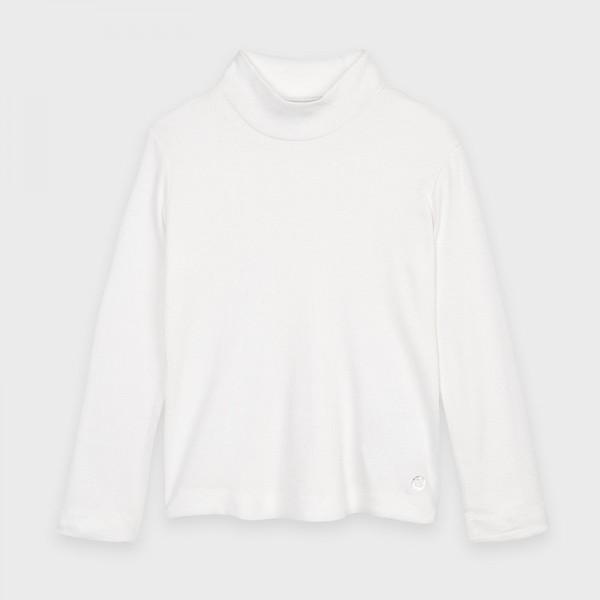 Bluza ivory guler inalt basic fata MAYORAL136 MYBL118Y
