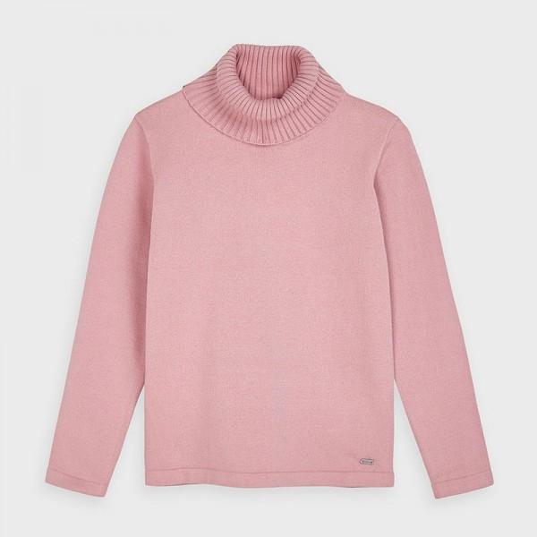 Pulover guler inalt tricot fetita MAYORAL 313 MYBL35V