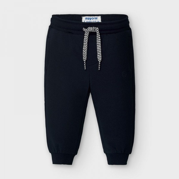 Pantaloni bleumarin plusati baiat MAYORAL 704 MYPL03V
