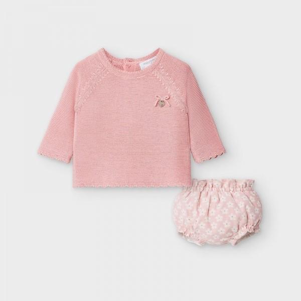 Set short tip chilotei si pulover fetita MAYORAL 2216 MYSET24V