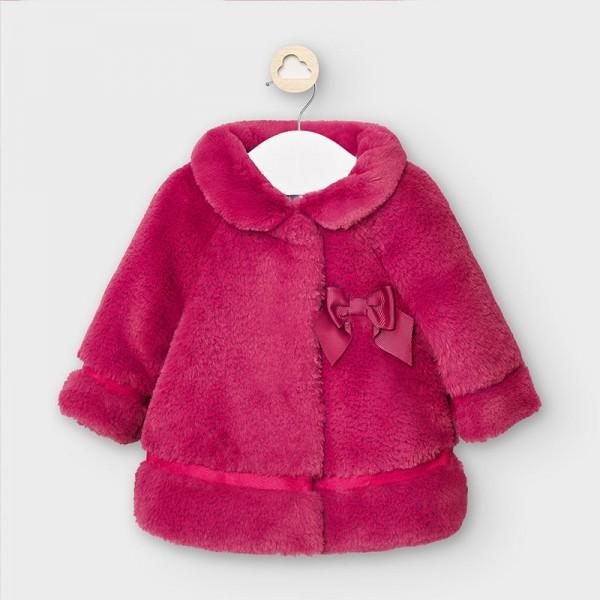 Palton ciclam blana fetita MAYORAL 2465 MYG32V