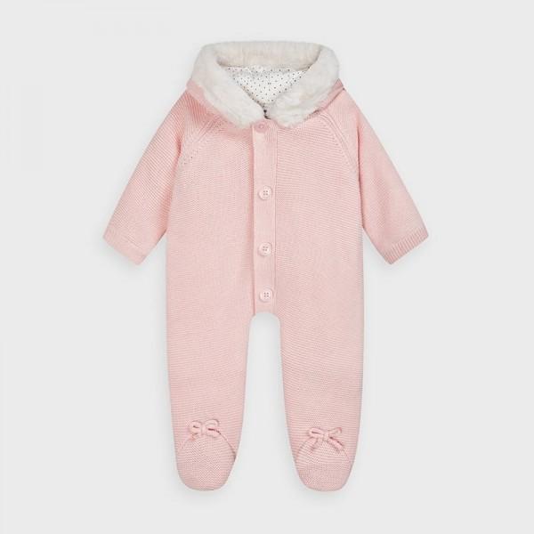 Combinezon roz tricot fetita MAYORAL 2631 MYCOMB02V
