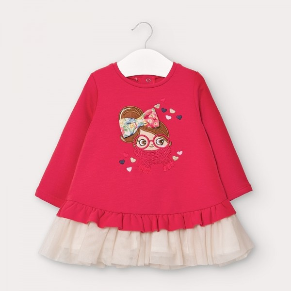 Rochie roz plus tul fetita MAYORAL 2965 MYR08V