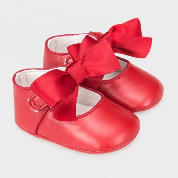 Pantofi rosii fundita ceremonie fetita MAYORAL 9340 MYBAL02V