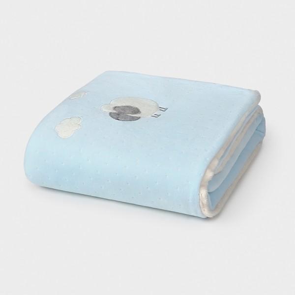 Paturica bleu matlasata cu blanita MAYORAL 9778 MYPAT02V