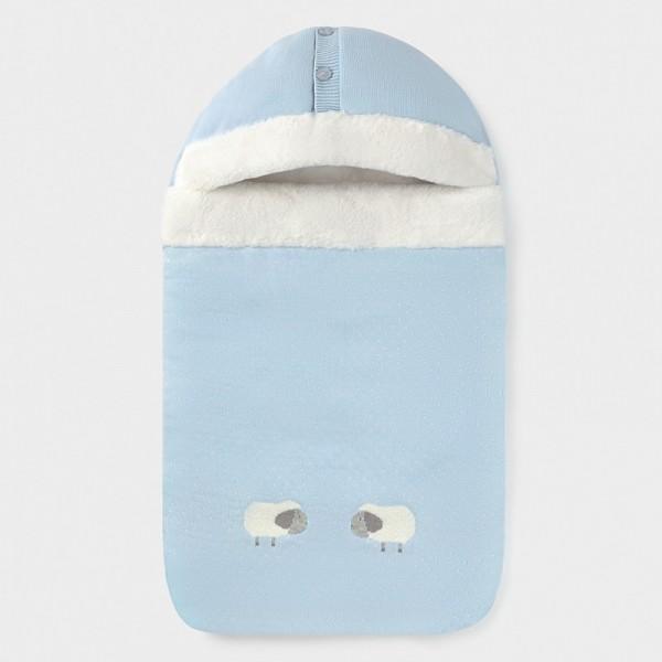 Sac bleu tricotat bebe baiat MAYORAL 9845 MYSAC01V