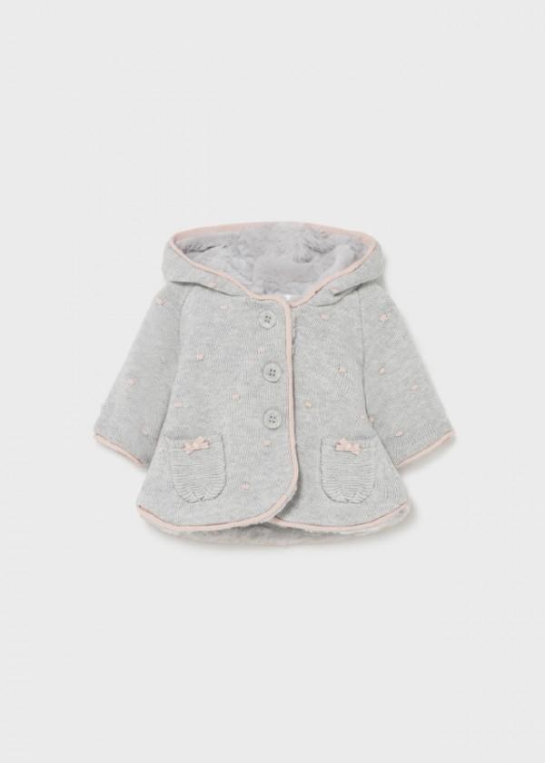 Jacheta tricot nou-nascut fata 2364 MYG19Y