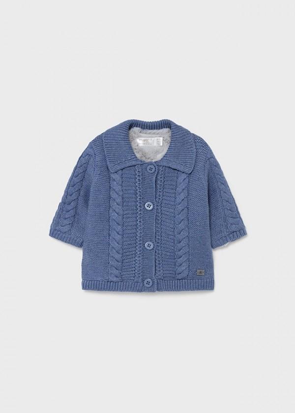 Cardigan tricot blanita nou-nascut baiat 2372 MYG05Y
