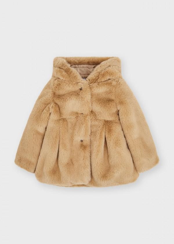 Palton blana fata 4436 MYG15Y
