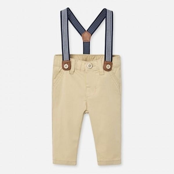 Pantaloni lungi bretele bebe baiat nou-nascut MAYORAL 01542 MYPL06P