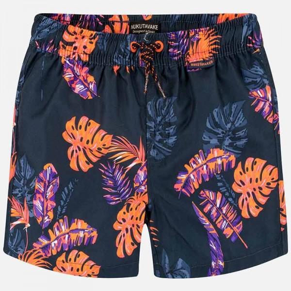 Bermude baie cu imprimeu tropical baiat 06618 MYPS002P