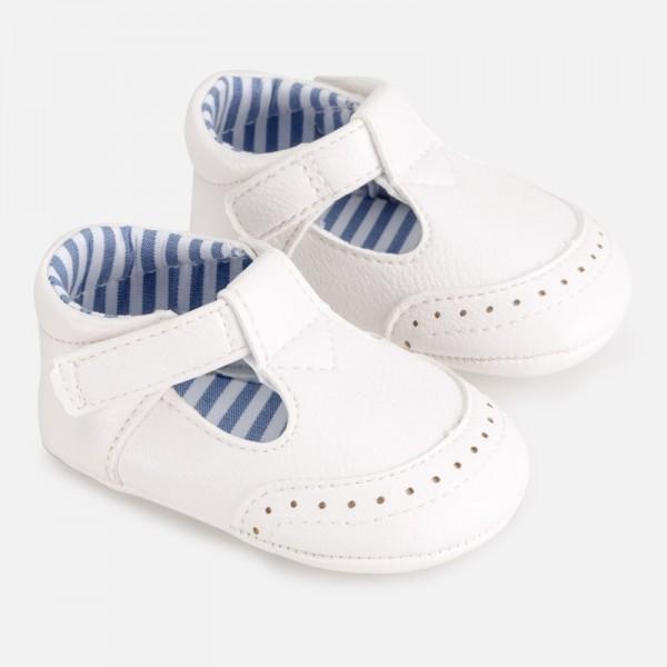 Pantofi detalii bebe baiat nou-nascut 09272 MYPANTF01P
