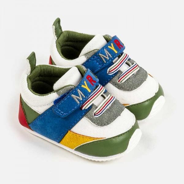 Pantofi sport logo bebe baiat nou-nascut 09280 MYTEN03P