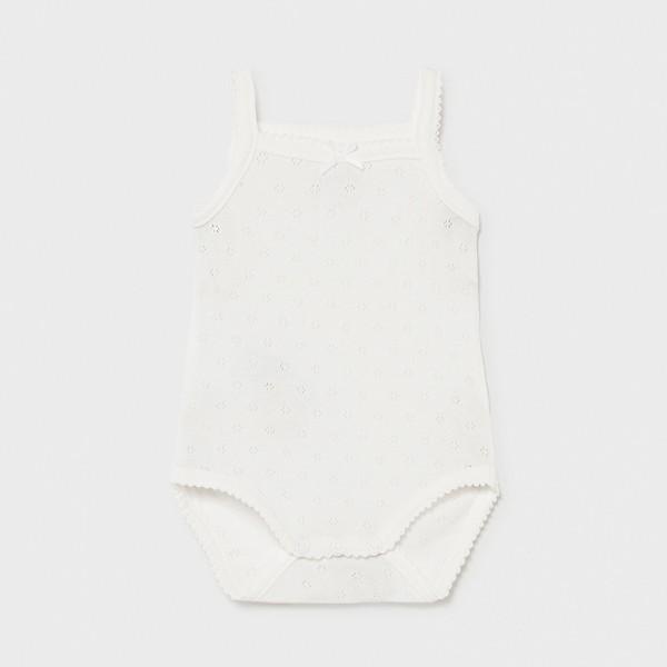 Body ivory bretele basic new born fata 00168 MYBD02X