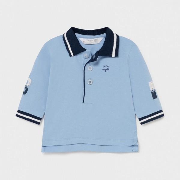 Bluza polo bleu nou-nascut baiat Mayoral 1171 - MYBL02X