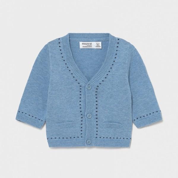 Cardigan tricot new born baiat 1334 - MYBL03X