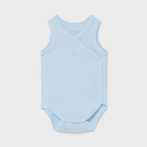 Body bleu fara maneca nou-nascut baiat Mayoral 1790 - MYBD01X