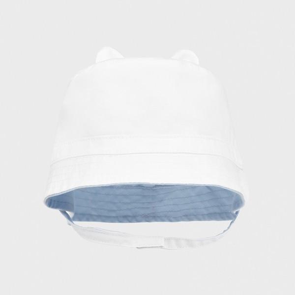 Palarie alba-bleu reversibila nou-nascut baiat MAYORAL 9372 MYPAL05X