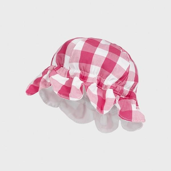 Palarie roz vichy new born fata MAYORAL 9375 MYPAL07X