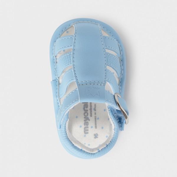 Sandale bleu piele ecologica baiat MAYORAL 9396 MYSAND05X