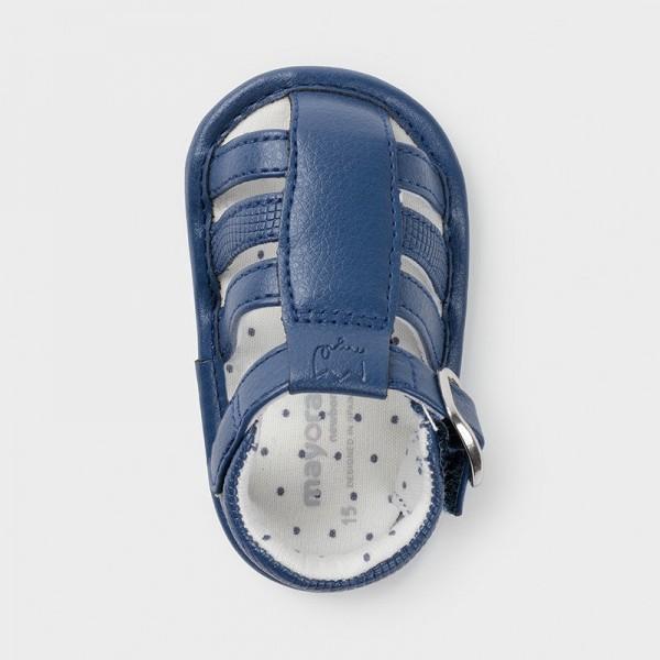 Sandale bleumarin piele ecologica baiat MAYORAL 9396 MYSAND05X