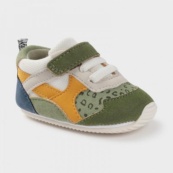 Pantofi kaki sport nou-nascut baiat Mayoral 9399 - MYTEN01X