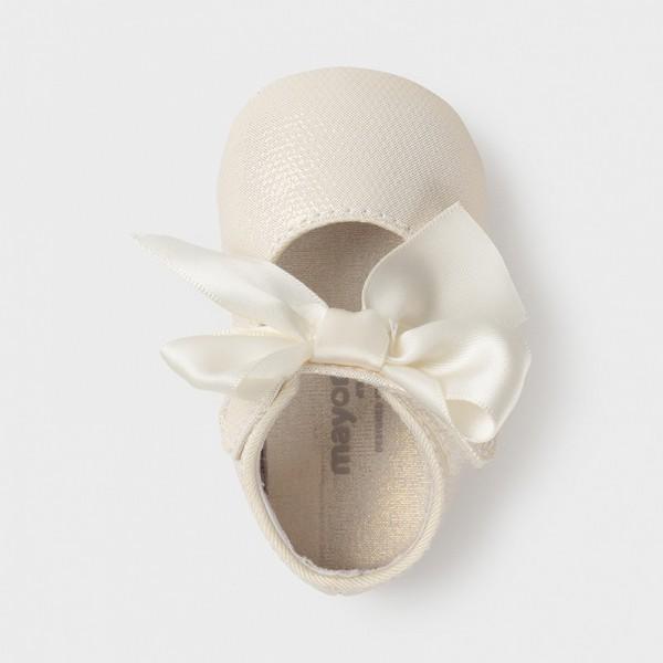 Pantofi bej nou-nascut fetita Mayoral 9404 - MYPANTF04X