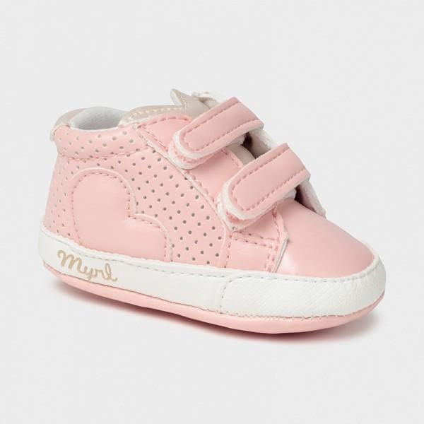 Pantofi roz pal sport arici new born fata Mayoral 9409 - MYTEN02X