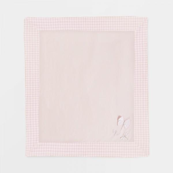 Patura roz broderii contrast bebe 9861 MYPAT04X