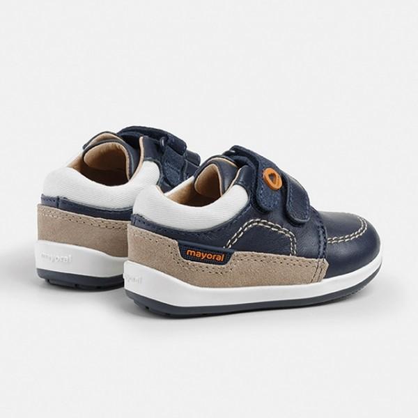 Pantofi primii pasi bebe baiat 41276 MYTEN11X
