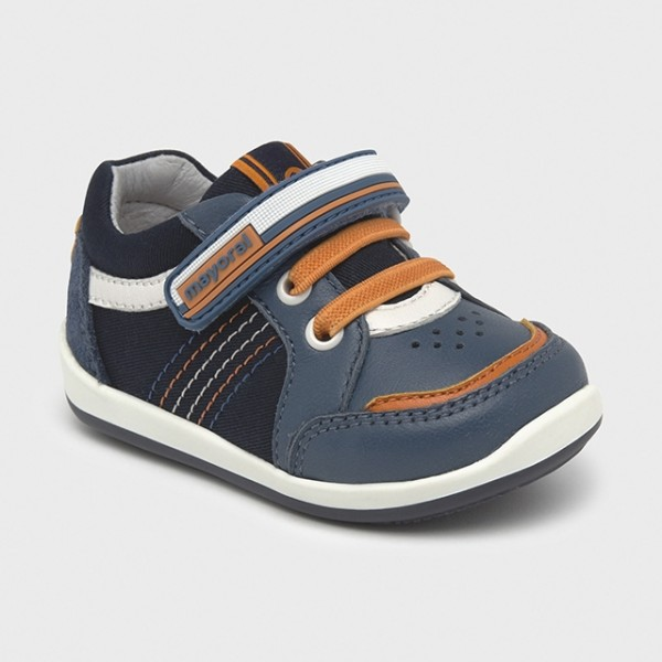 Pantofi sport primii pasi multicolori bebe baiat  41278 MYTEN12X
