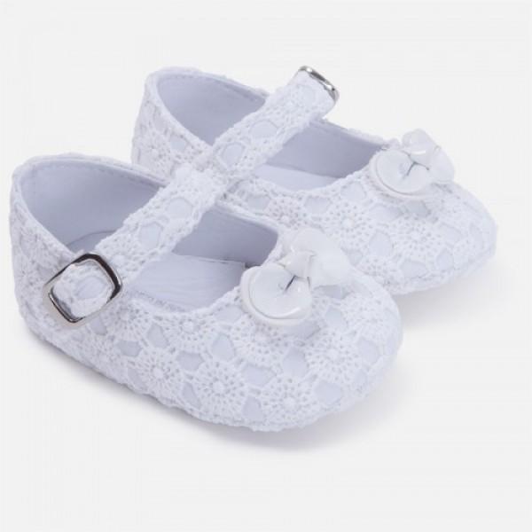 Pantofi albi fetite MAYORAL 9502 mypantf04g