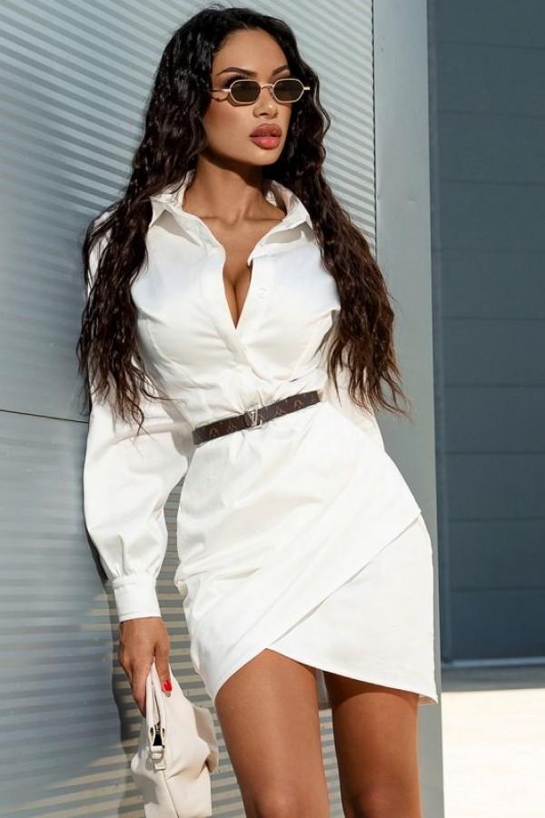Rochie alba Mexton MEXR8770Y