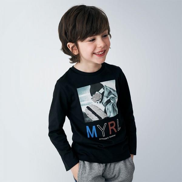 Bluza neagra baiat MAYORAL 4052 MYBL140Y