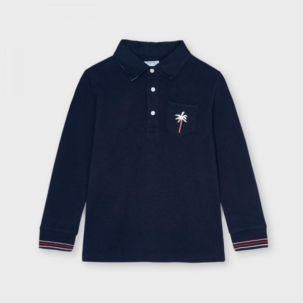 Bluza polo bleumarin baiat MAYORAL 3115 MYBL53X