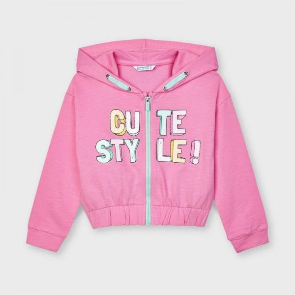 Hanorac roz cute fetita MAYORAL 3480 MYG15X